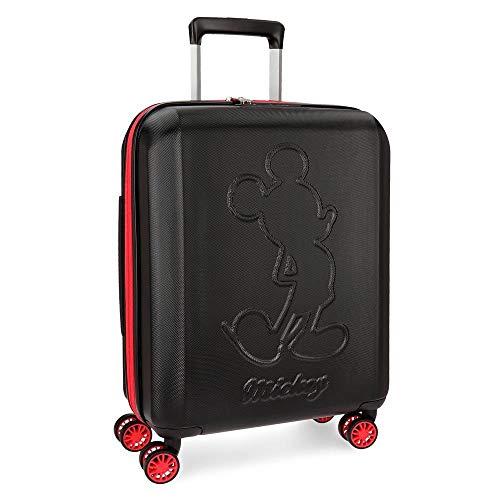 Disney Colored Kindergepäck, 55 cm, 38 liters, Schwarz Negro