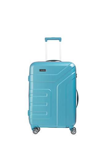 """Travelite Koffer-Serie """"VECTOR"""" von travelite: Robuste Hartschalen-Trolleys und Beautycases in 4 Trendfarben Kosmetikkoffer, 70 cm, 79 liters, Türkis"""
