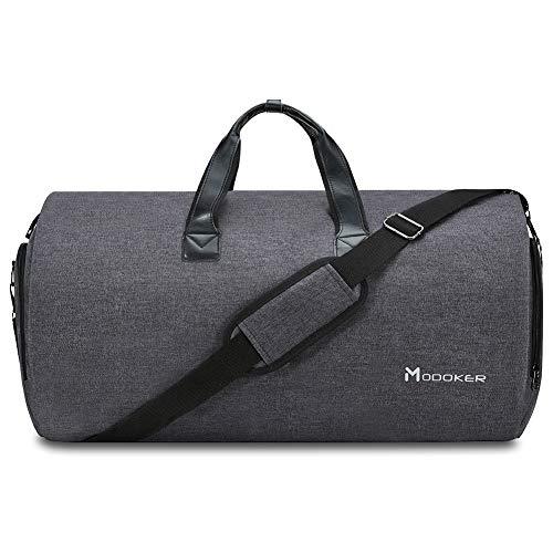 Modoker Modoker Garment Bag 021, Herren Kleidertasche, Schwarz Schwarz – Garment Bags