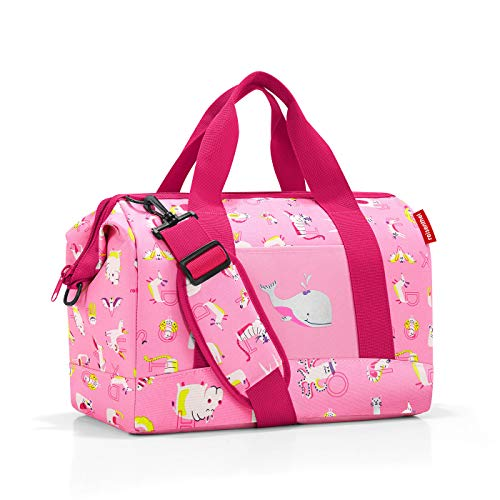 Reisenthel Allrounder M Kids ABC Friends pink Reisetasche, 40 cm, 18 Liter, ABC Friends Pink