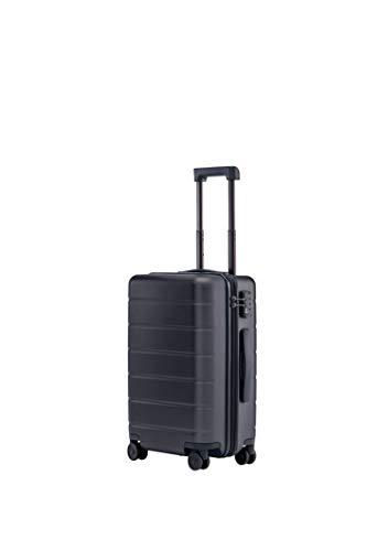 Xiaomi Mi Classic Luggage 20″ 38 Liter Hartschalen Trolley Koffer Rollkoffer aus hochwertigen Polycarbonat mit 4 Rollen und drei Nummern TSA-Zahlenschloss Schwarz