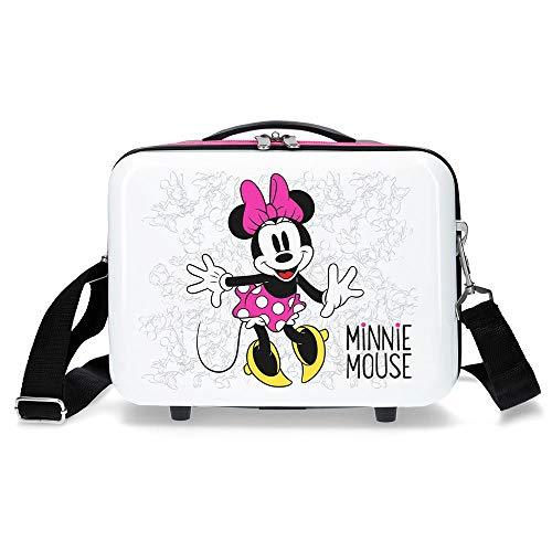 Disney Enjoy The Day Kosmetikkoffer 29 centimeters 9.14 Weiß Blanco