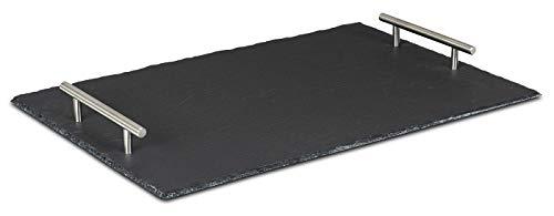 Top 9 Tablett Schwarz rechteckig Metall – Servierplatten