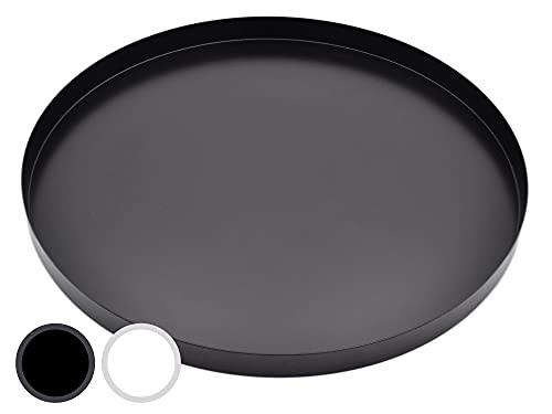 Top 9 Rundes Tablett Schwarz – Dekoschalen