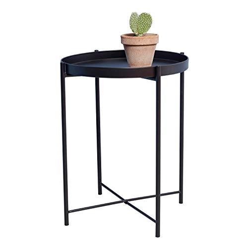 Top 10 Beistelltisch Schwarz Rund Metall – Beistelltische fürs Wohnzimmer