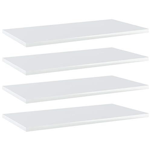 Top 7 Regalbrett weiß Hochglanz – Beistelltische fürs Wohnzimmer