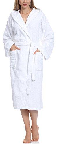 Top 9 Bademantel Damen weiß Frottee – Bademäntel für Damen