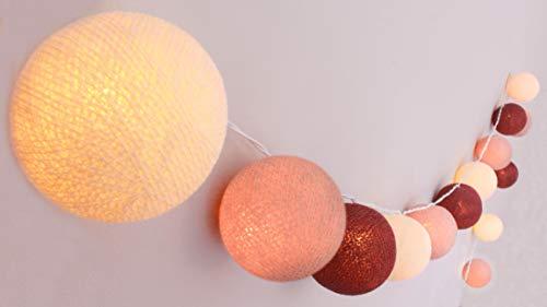 Top 10 Lichterkette Cotton Balls – Lichterketten für Innen