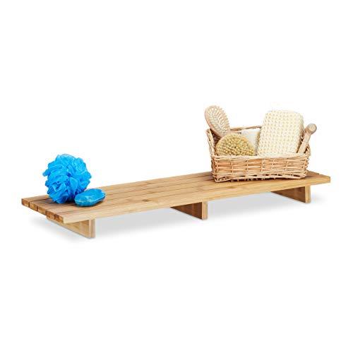 Top 10 Brett für Badewanne Holz – Duschkörbe & Duschablagen