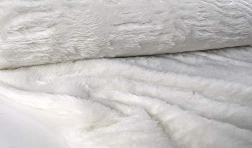 Top 9 FELL Weiß KUNSTFELL Meterware – Textilien