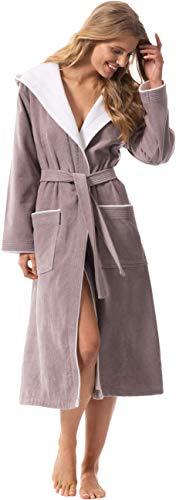 Top 10 Bademantel Baumwolle mit Kapuze Damen – Bademäntel für Damen
