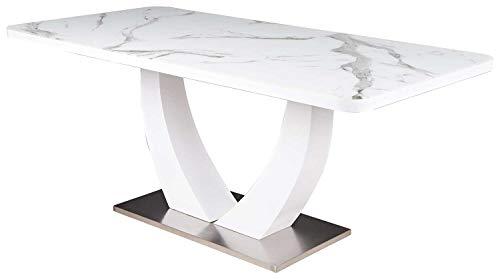 Top 9 Esstisch Weiß Glas ausziehbar – Esszimmertische