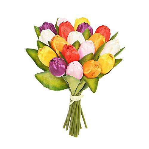 Top 8 künstliche Tulpen Bunt – Seiden- & Kunstblumen