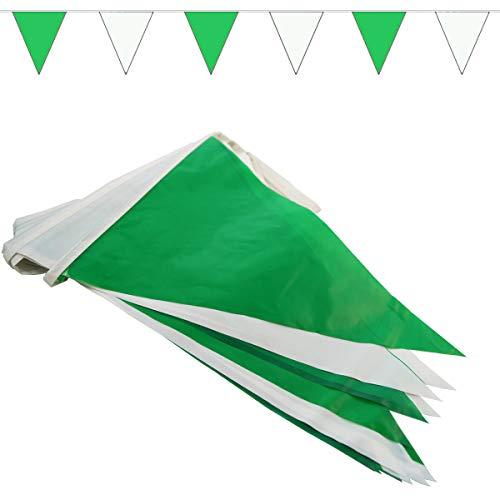 Top 8 Wimpelkette Grün Weiß – Flaggen
