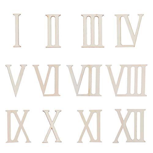 Top 9 Römische Ziffern Holz – Unbehandeltes Holz