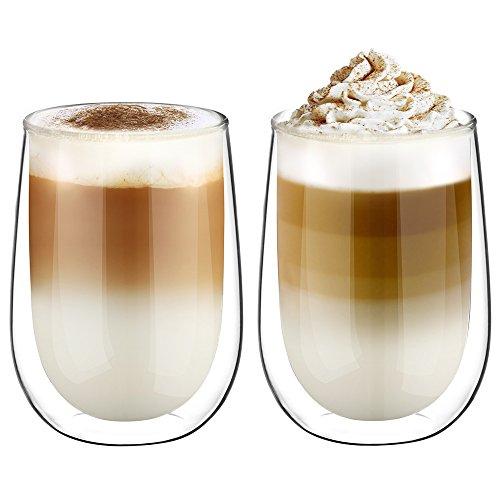 Top 10 doppelwandige Gläser 350 Ml – Kaffee- & Teegläser
