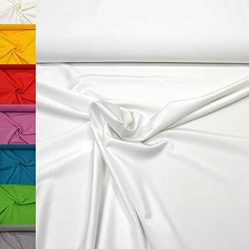 Top 9 LYCRA Meterware WEIß – Textilien