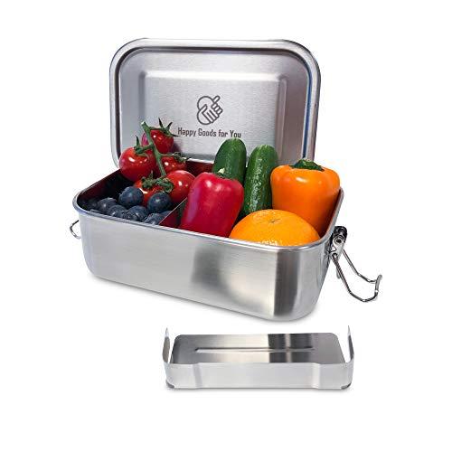 Top 10 Happy Goods Brotdose Edelstahl – Lunch-Boxen