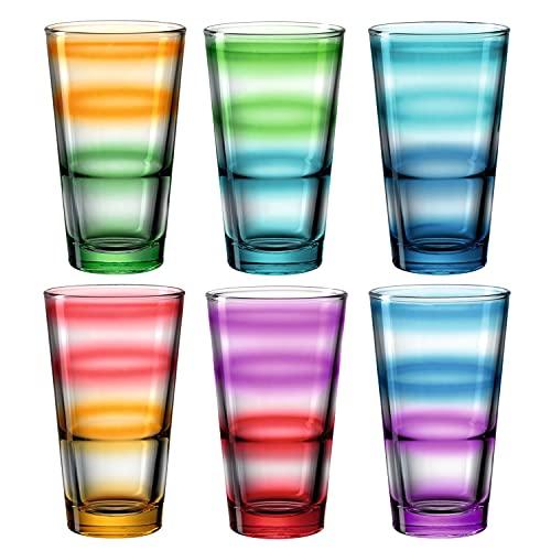 Top 10 Gläser konisch – Longdrinkgläser