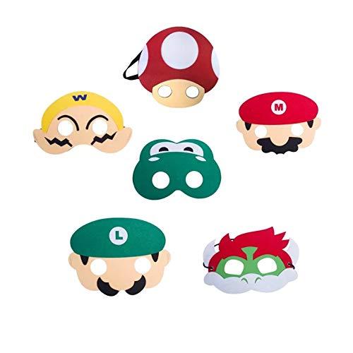 Top 9 Super Mario Kostüm – Masken & Brillen für Erwachsene