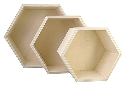 Top 9 Hexagon Box Holz – Schweberegale
