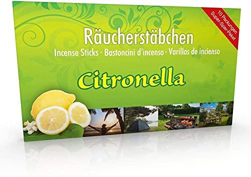 Top 8 Luxflair Räucherstäbchen Citronella – Räucherstäbchen