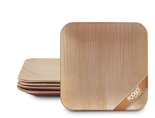 Top 10 Bambus Teller Einweg 100 Stück – Einwegteller