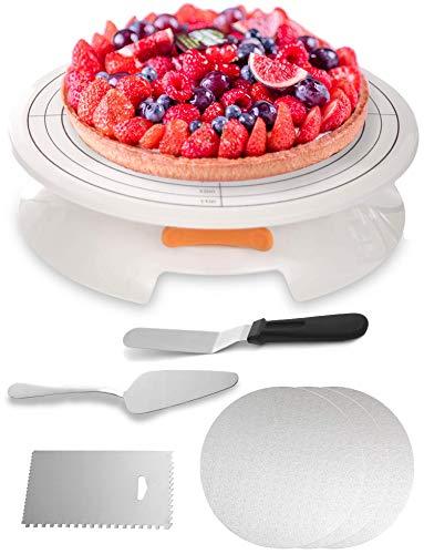 Top 10 Tortenplatte Drehbar Set 30 – Kuchen- & Tortenplatten
