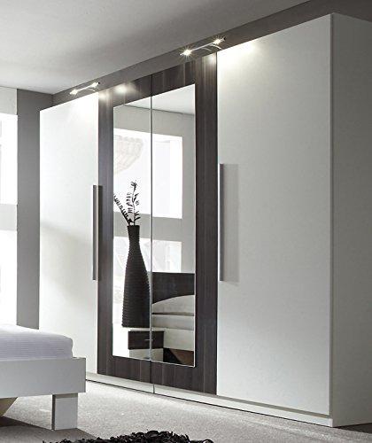 Top 10 Kleiderschrank mit Spiegel Schwarz Weiß – Kleiderschränke