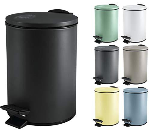 Top 10 Badmülleimer schwarz matt – Abfallbehälter fürs Bad