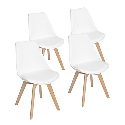 Top 9 4er Set Stühle Weiß – Esszimmerstühle
