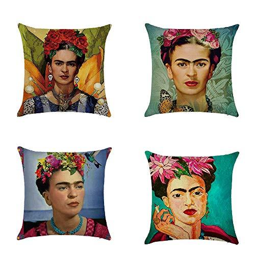 Top 9 Frida Kahlo Kissen – Zierkissenbezüge