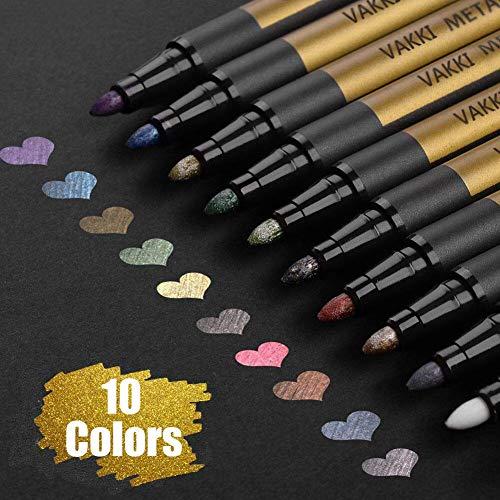 Top 10 Metallic Marker Pens 10 Farben – Marker & Filzstifte