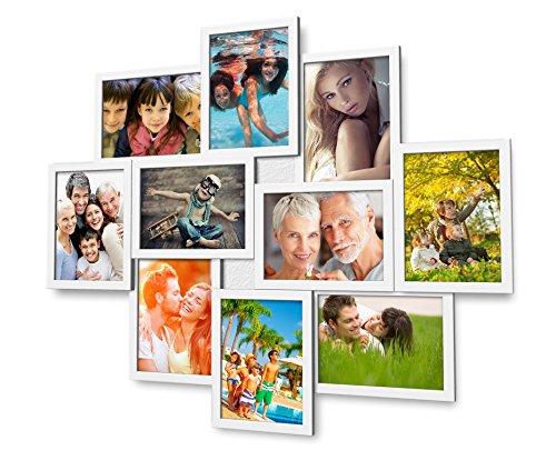 Top 10 Fotocollage Bilderrahmen 13×18 Weiß – Bilderrahmen