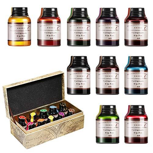 Top 10 Tusche Farben Set – Tintenfässer für traditionelle Füllhalter & Federn