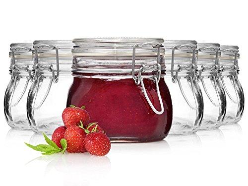 Top 9 Gläser mit Bügelverschluss 300 ml – Einmachgläser