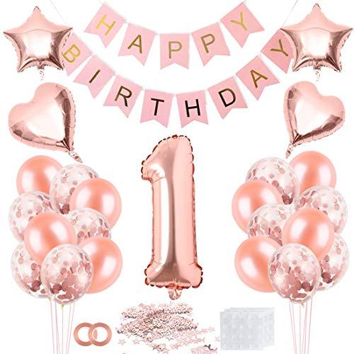 Top 10 Luftballon 1 Geburtstag Mädchen – Luftballons