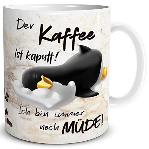 Top 10 Geschenk Freundin lustig – Kaffeetassen & Becher