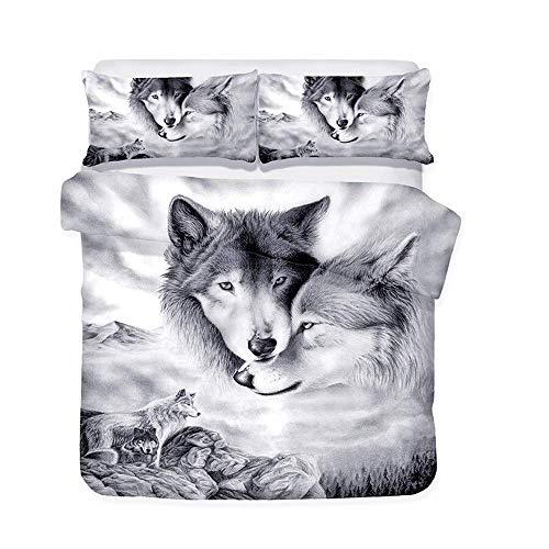 Top 8 Wolf Bettwäsche 135×200 80×80 – Bettwäsche-Sets