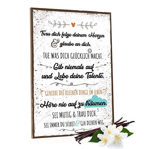 Top 10 Holzschild Spruch Familie – Poster & Kunstdrucke