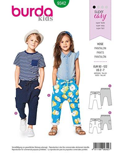 Top 9 Burda Schnittmuster Kinder Hose – Muster & Vorlagen