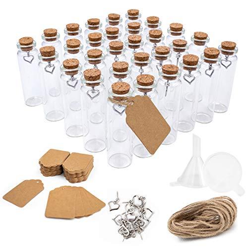 Top 10 Glasfläschchen mit Korken – Glasbehälter & Töpfe