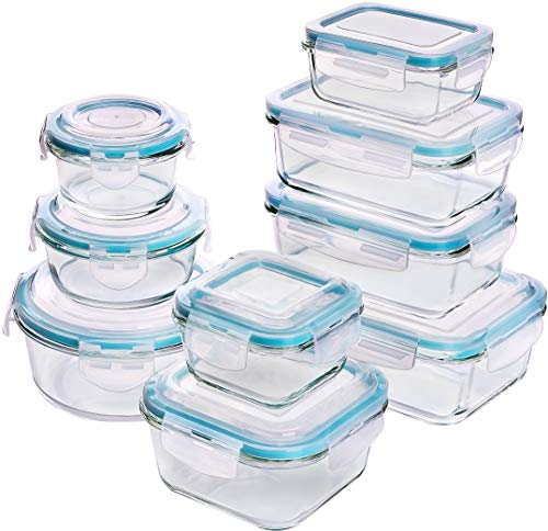 Top 10 Mikrowellengeschirr Glas mit Deckel – Vorratsdosen-Sets