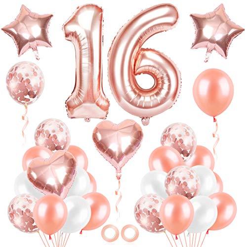 Top 10 16 Ballon Rosegold – Luftballons