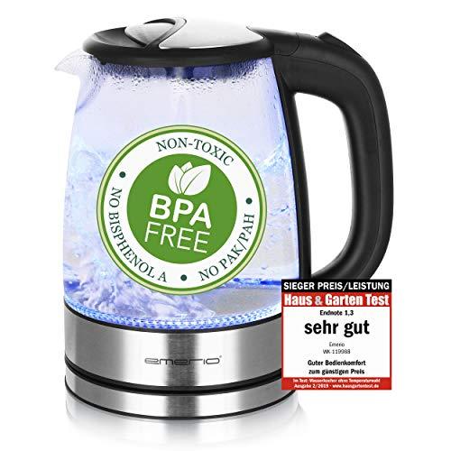 Top 10 Wasserkocher Glas BPA Frei – Wasserkocher