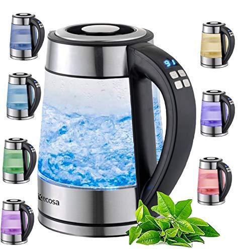 Top 10 Wasserkocher mit Temperatureinstellung Glas – Wasserkocher