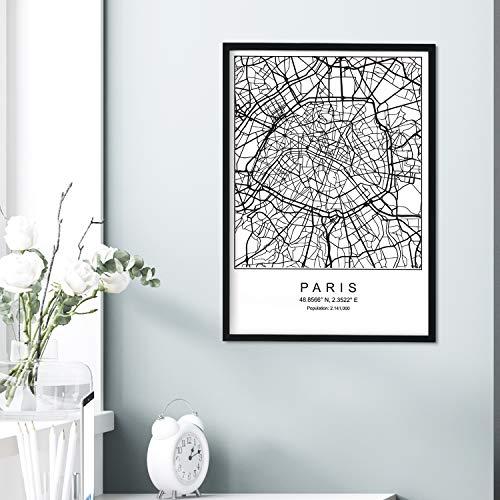 Top 10 Paris Poster Schwarz Weiß – Poster & Kunstdrucke