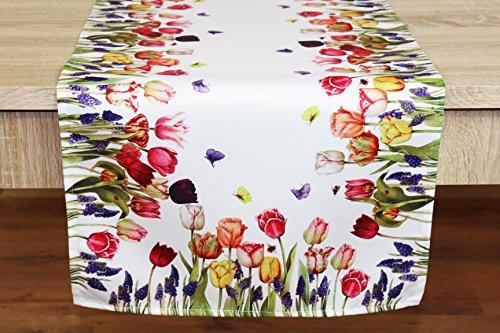 Top 10 Frühlings Tischläufer Tulpen – Zierkissenbezüge
