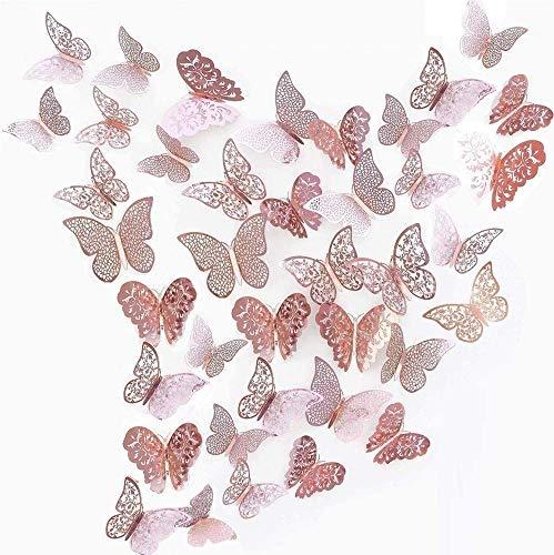 Top 10 3D Schmetterlinge Deko Wand Wandsticker Aufkleber Wandtattoo – Wanddeko fürs Kinderzimmer