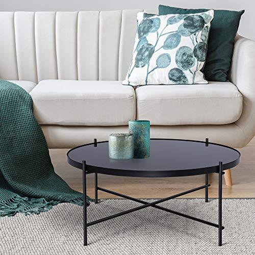 Top 10 Couchtisch Glas schwarz Metall – Beistelltische fürs Wohnzimmer